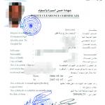 卡塔尔无犯罪证明