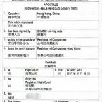 HK香港海牙认证
